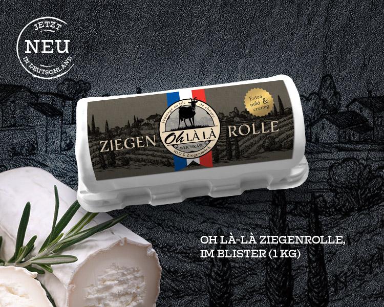 Oh LÀ LÀ Ziegenrolle (1Kg)